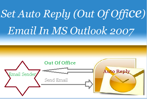 Setup Auto Reply (Out Of Office ) Email